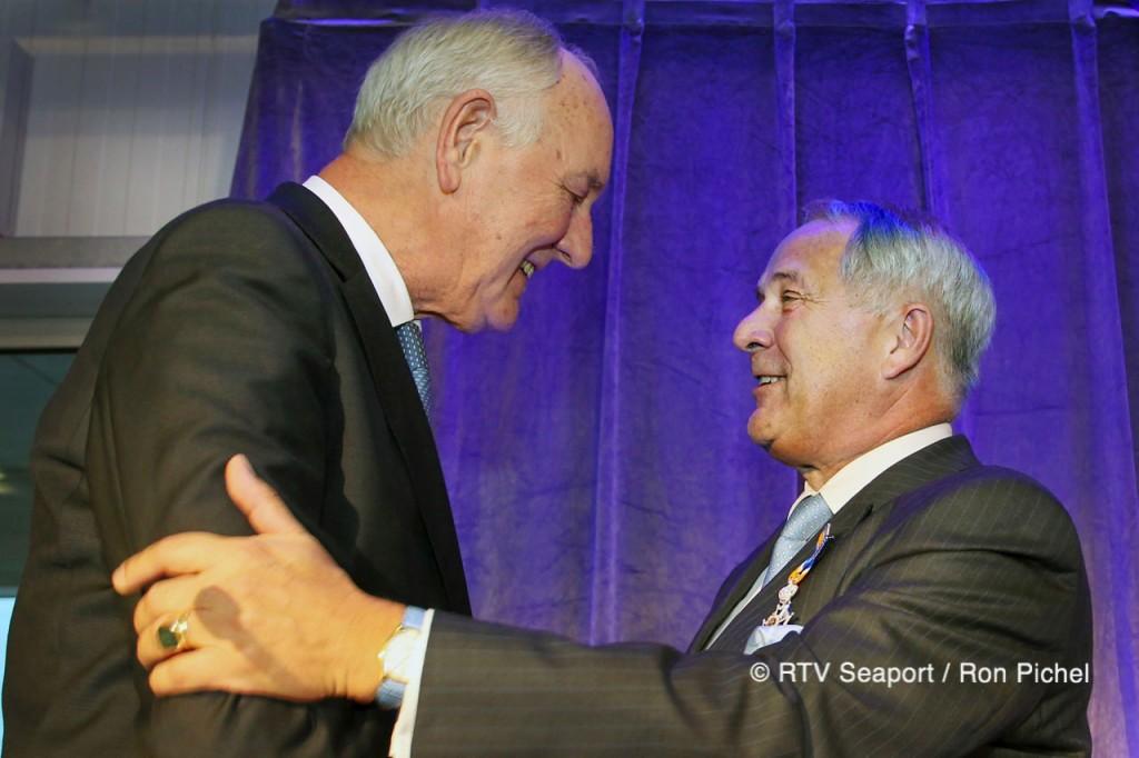 Koninklijke Onderscheiding voor directeur KVSA Frans Baud