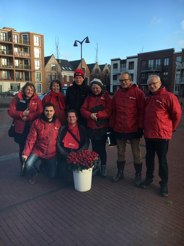 PvdA Velsen bezoekt Oud-IJmuiden