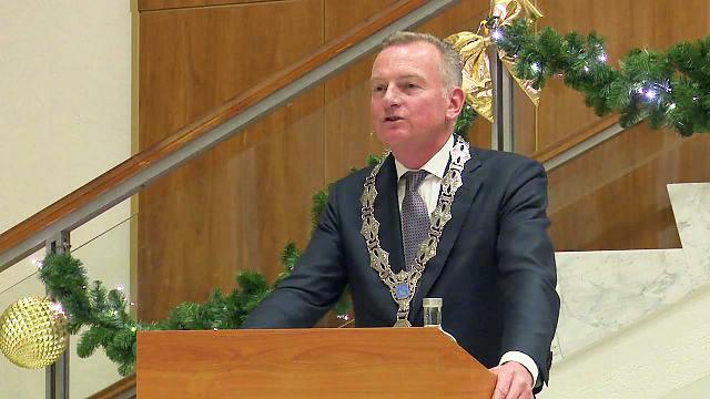 Nieuwjaarsspeech burgemeester Dales