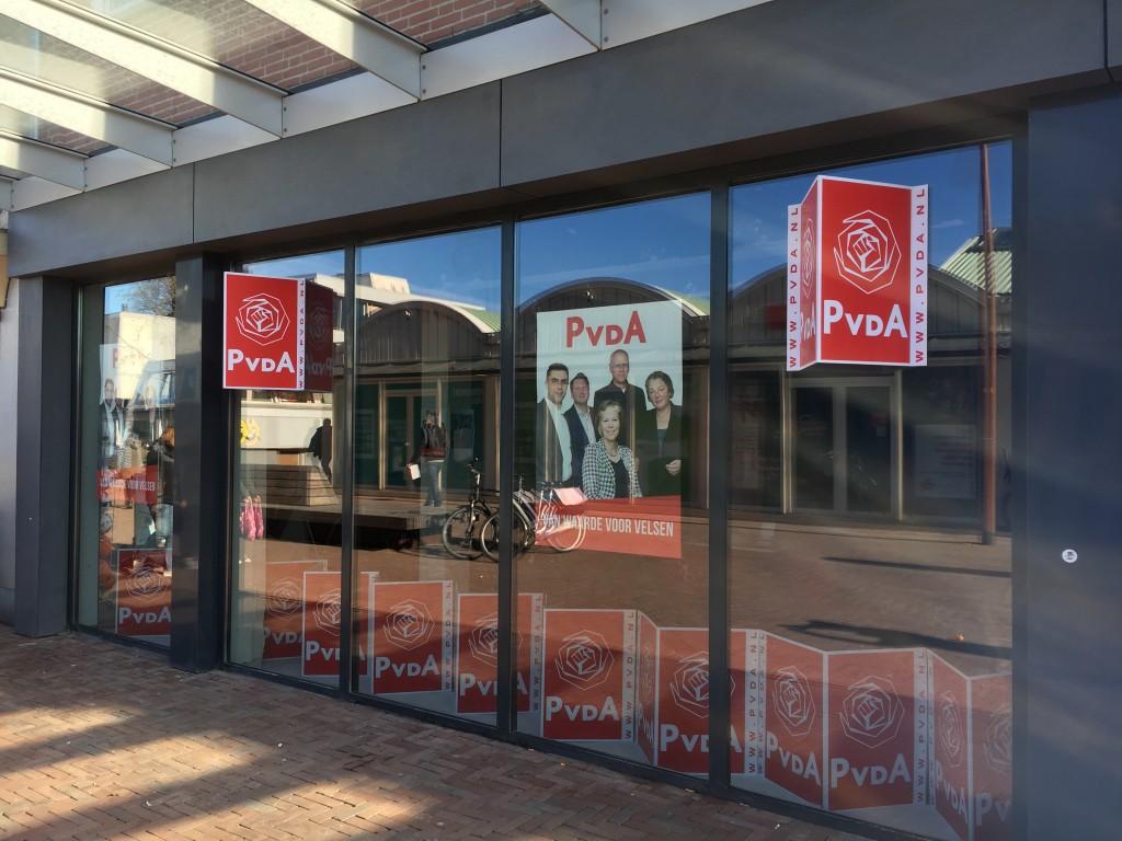 Pop Up Store voor lokale PvdA