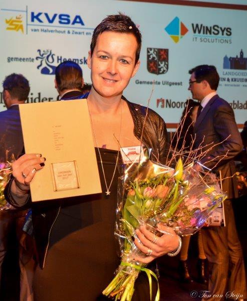 Nicolette Koopen IJmonder van het jaar 2017