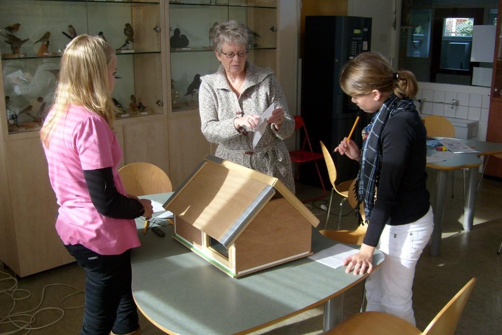 Warme-truiendag in het Pieter Vermeulen Museum
