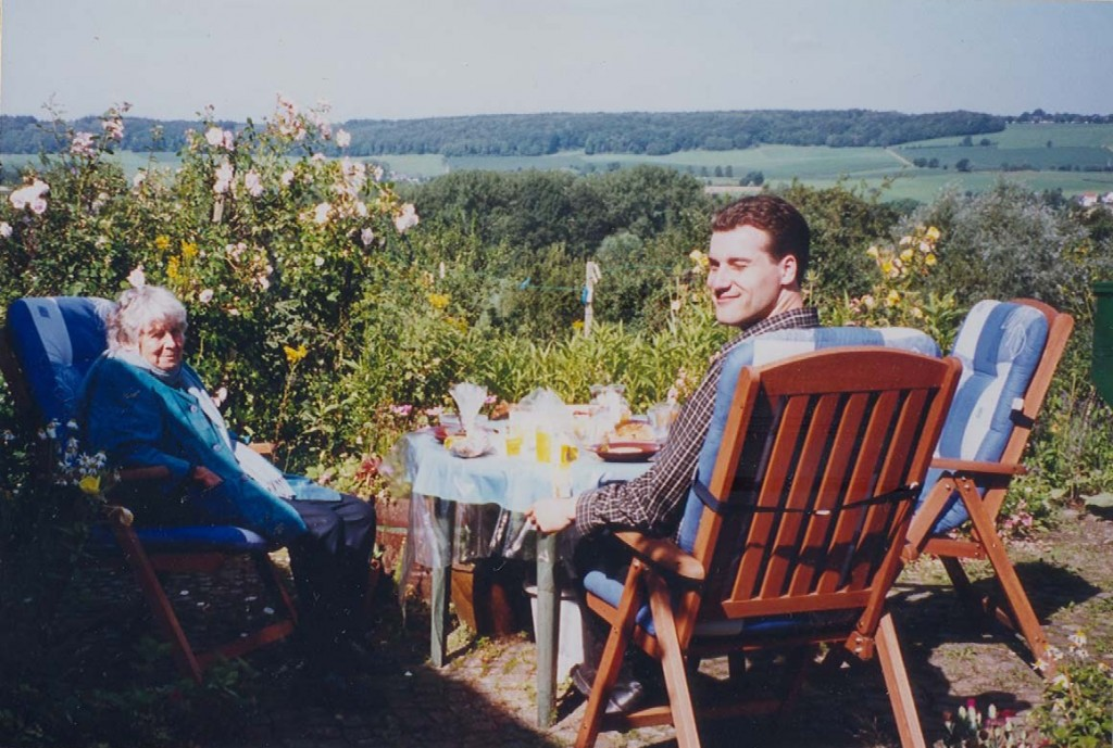 Joanne Klink en Mark Metselaar in Epen-Vijlen , Limburg 2004