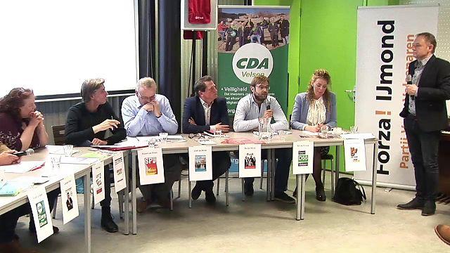 Reportage politiek café in Velsen-Noord