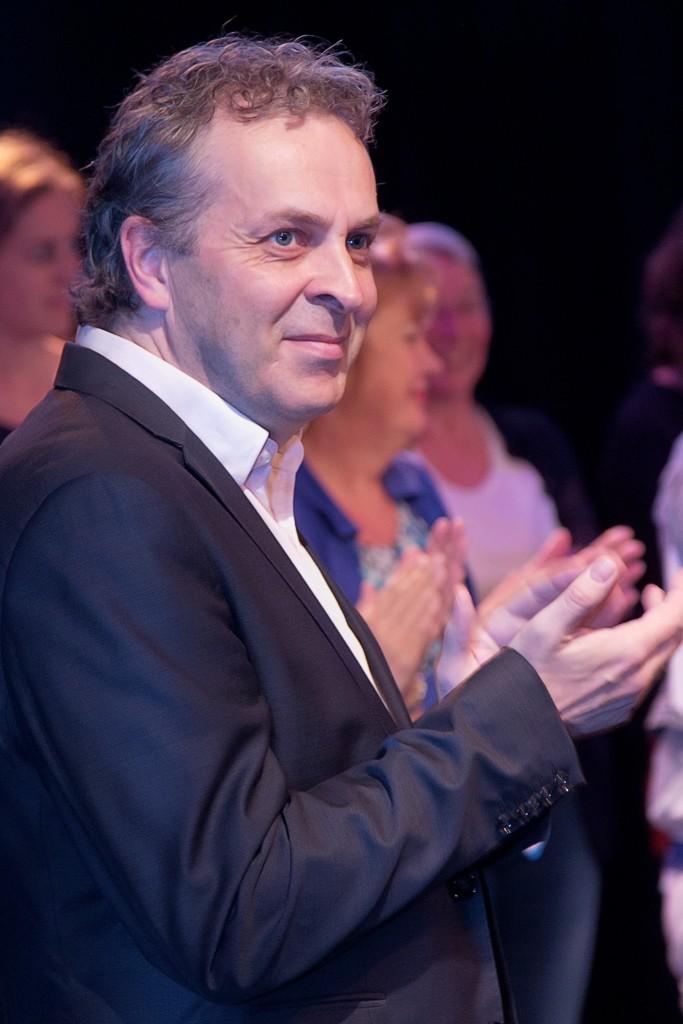 Pianist Frederic Voorn in Mosterdzaadje