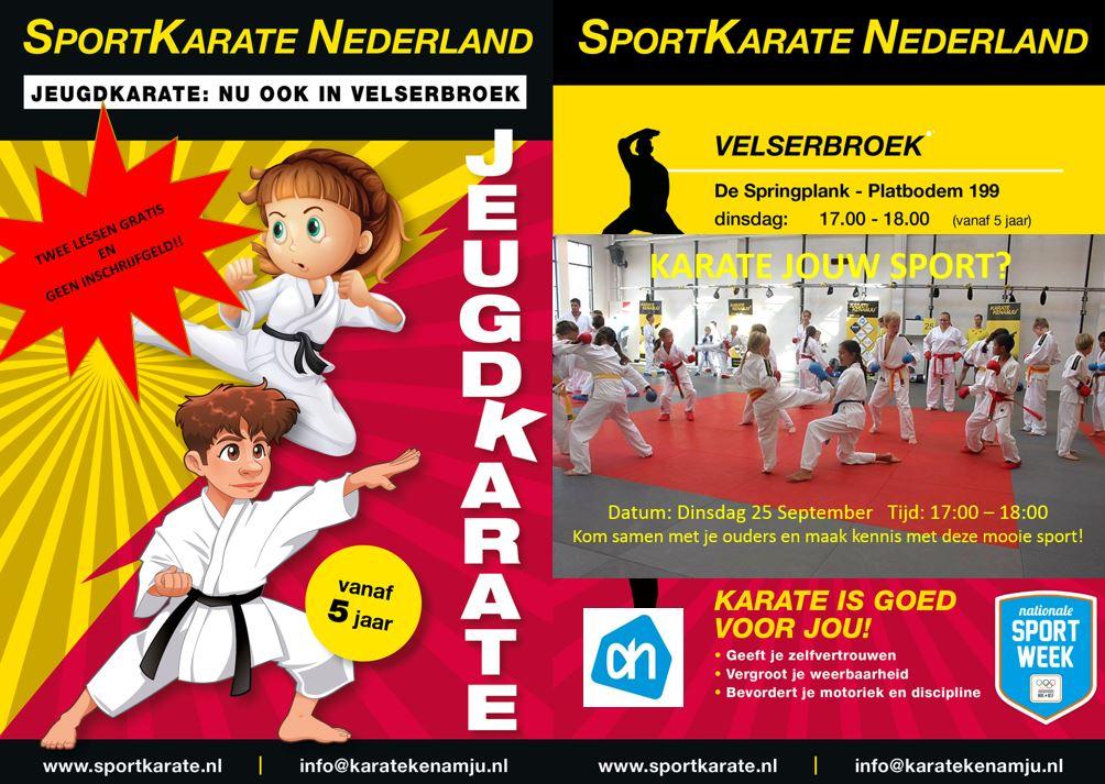 Is karate jouw sport?