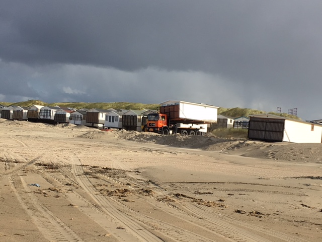 Einde strandseizoen IJmuiden