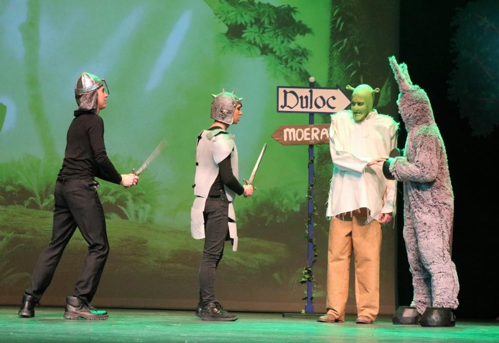 Groot succes voor musical Shrek