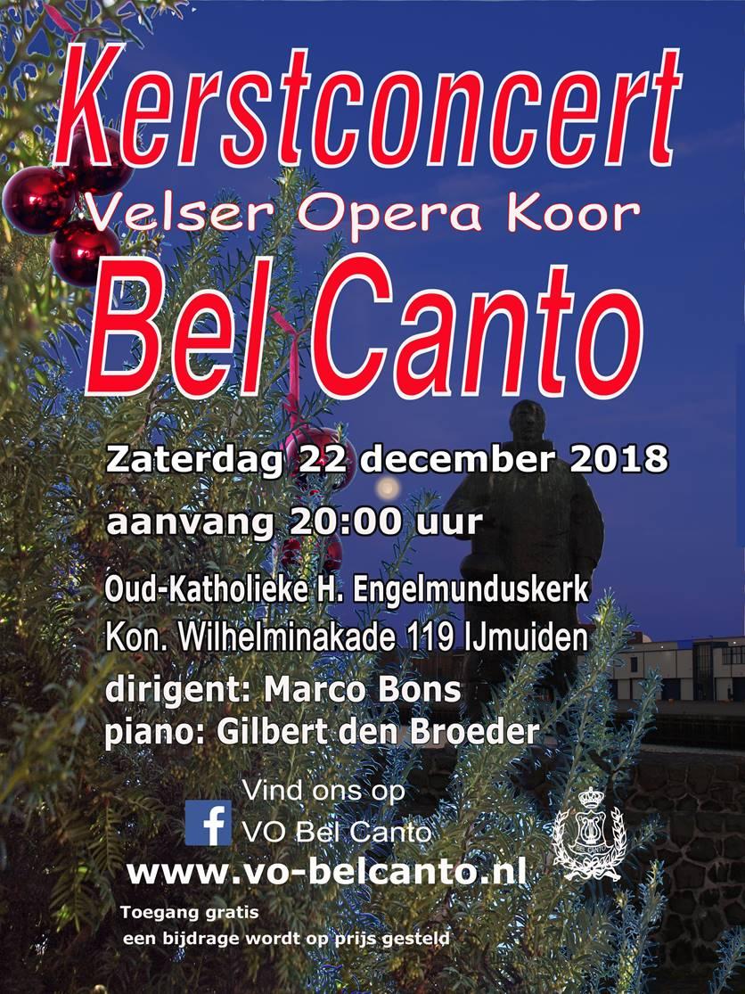 Kerstconcert Operakoor Bel Canto
