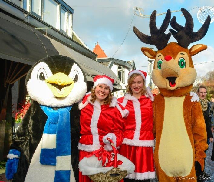 Kerstmarkt & Kerstloop in Santpoort-Noord