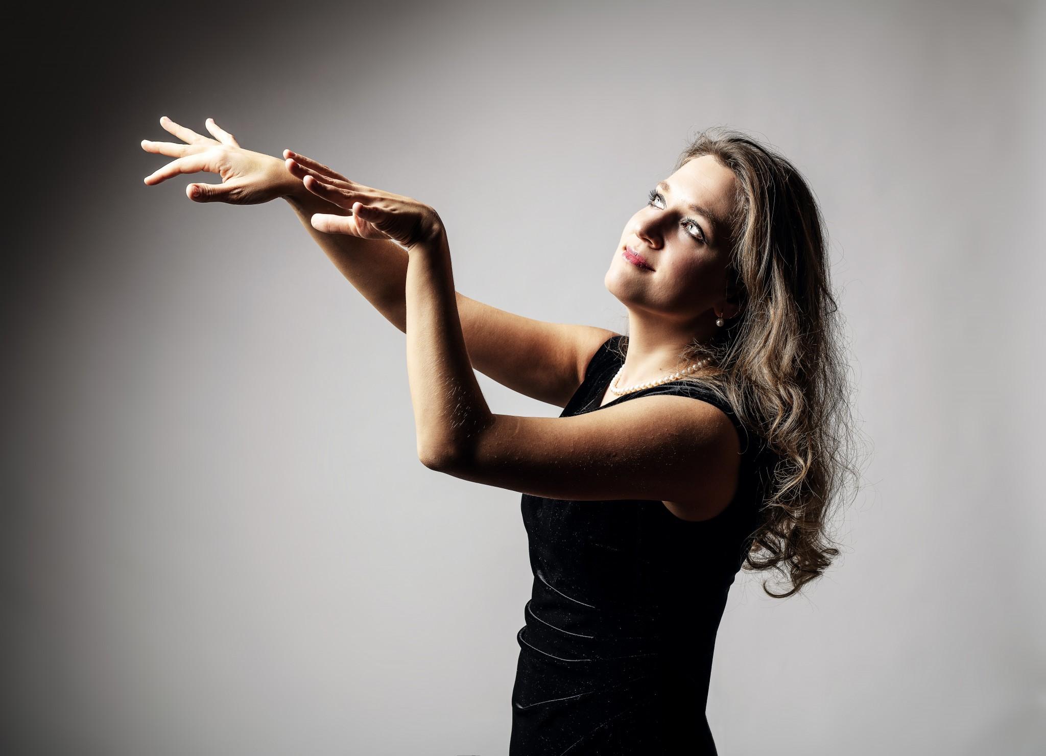 Pianiste Maria Prokofieva in 'Mosterdzaadje