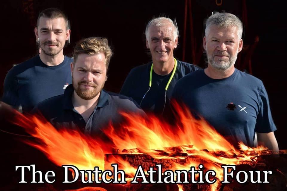 Viertal wint Atlantische roeiwedstrijd