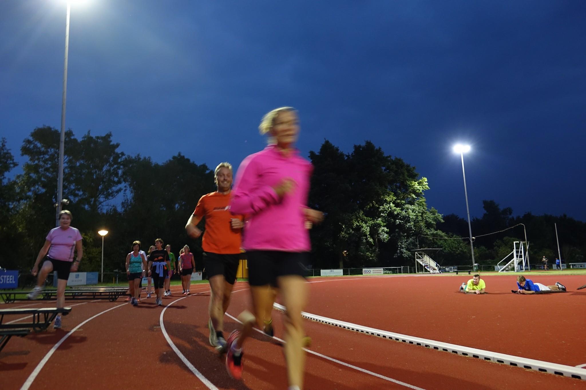 Hardloopclinic bij Suomi voor marathon