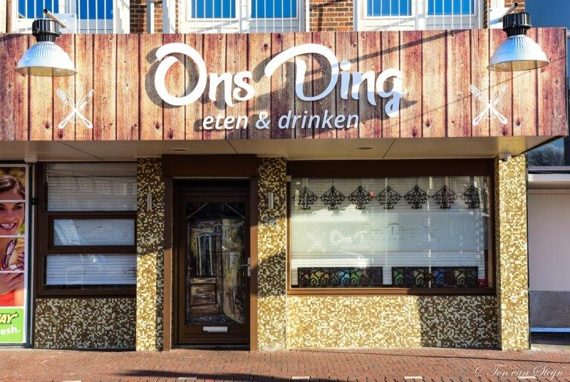 Restaurant Ons Ding…..geopend