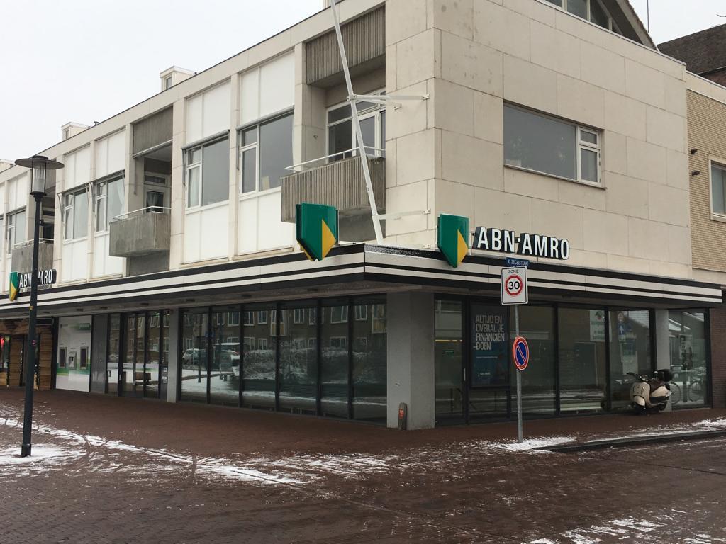 Kantoor ABN AMRO Lange Nieuwstraat dicht