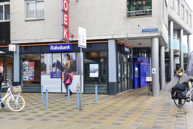 Rabobank sluit bankwinkel Velserbroekse Dreef