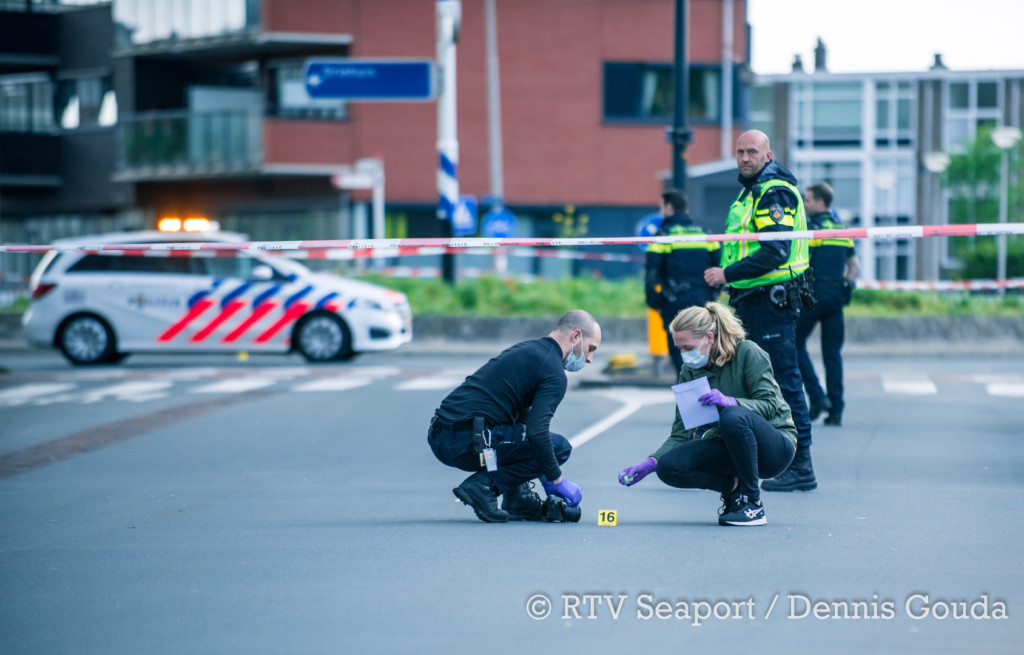 Politie onderzoekt schietpartij IJmuiden
