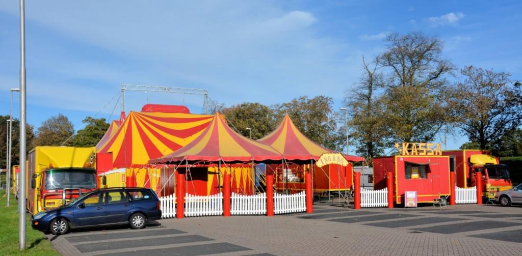 Circus Barani enkele dagen in IJmuiden