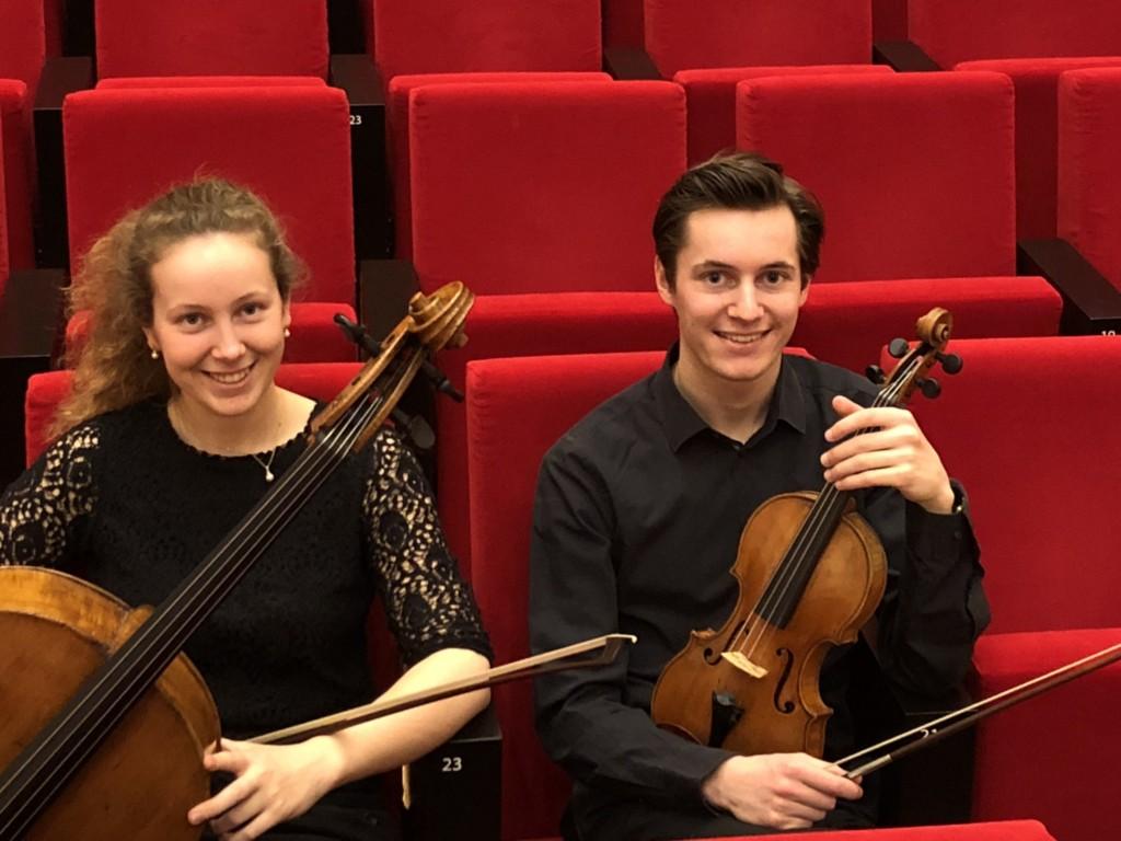 Een bijzonder viool-cello duo