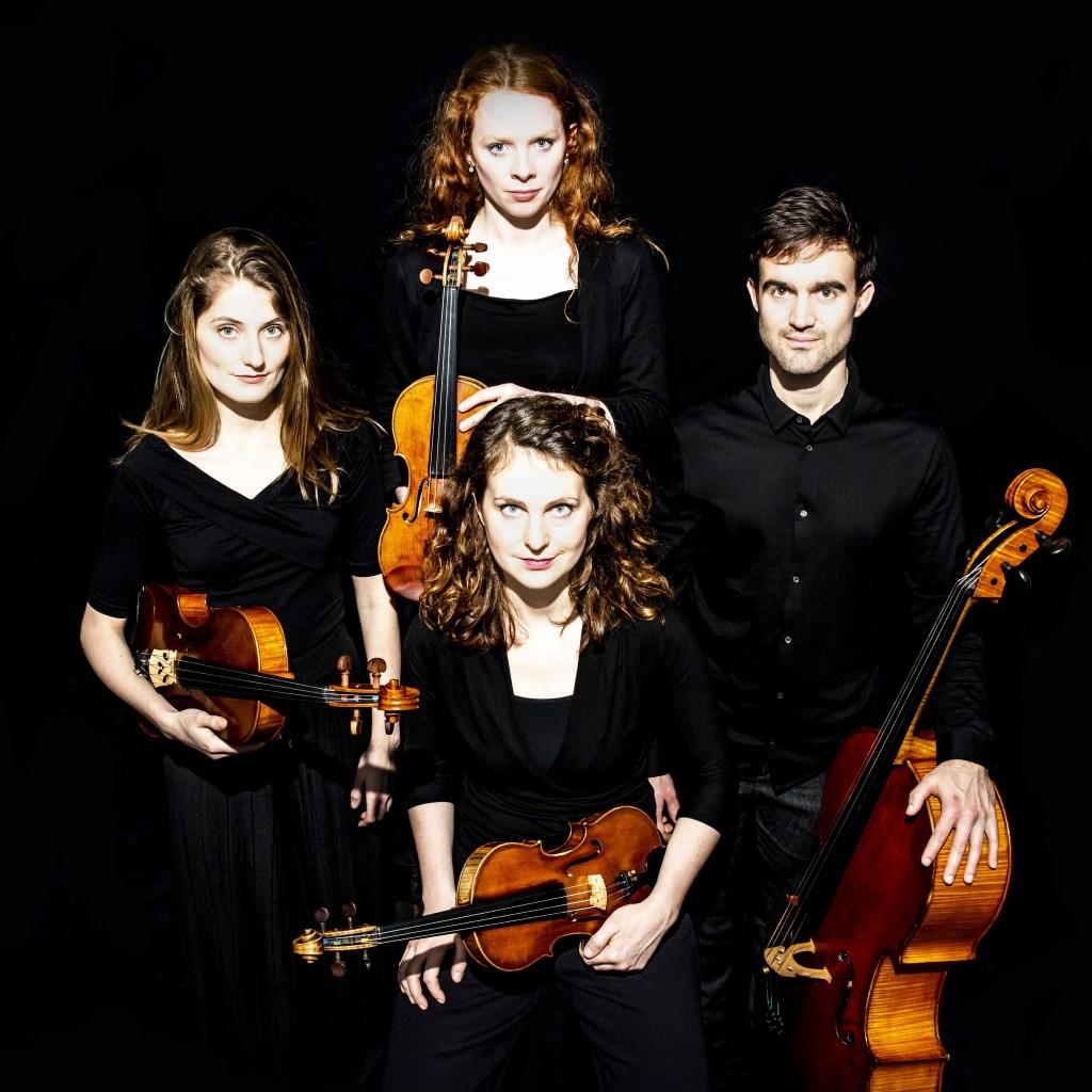 Het Belinfante Quartet in 't Mosterdzaadje