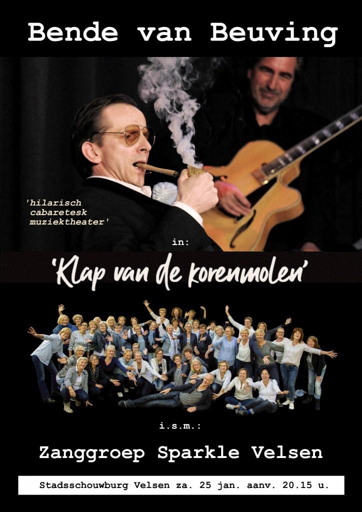 Sparkle met professioneel cabaret in Stadsschouwburg