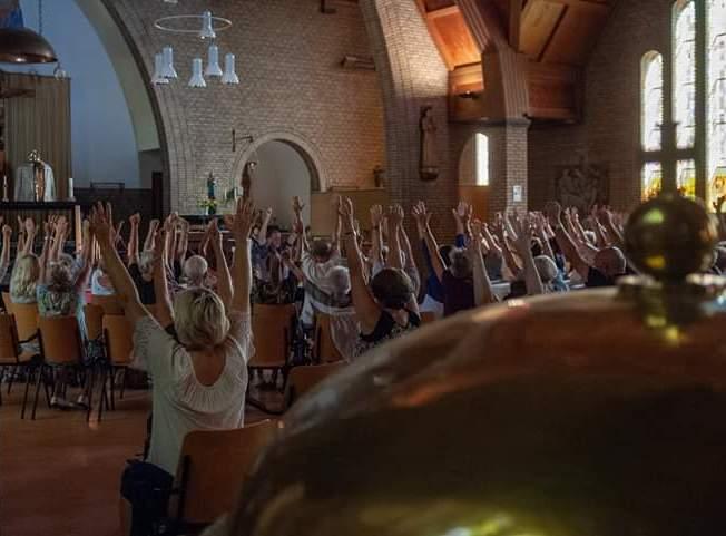 Santpoort mediteert: Maandag even helemaal niks…