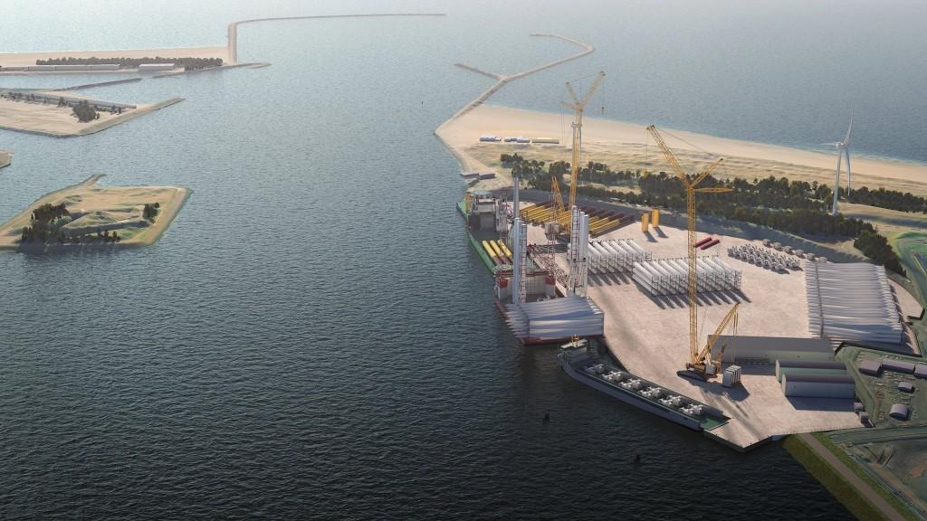 Voormalig Averijhaven wordt Energiehaven