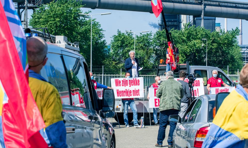 toeterprotest tata steel (1)
