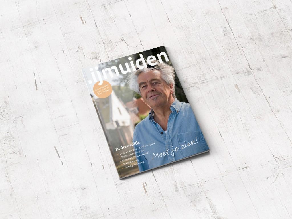 Veelzijdig .IJmuiden magazine deze week in de bus