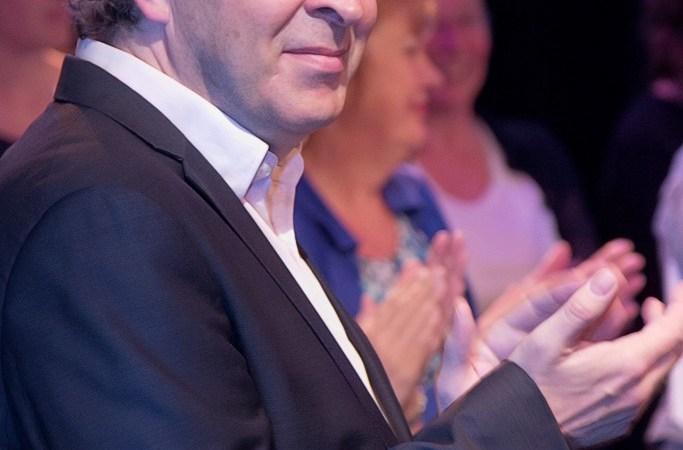 Pianist Frederic Voorn vanmiddag in 't Mosterdzaadje