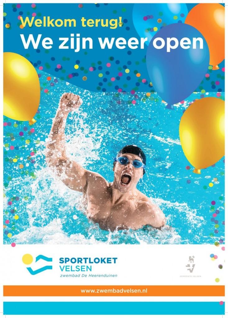 Zwembad De Heerenduinen opent de deuren