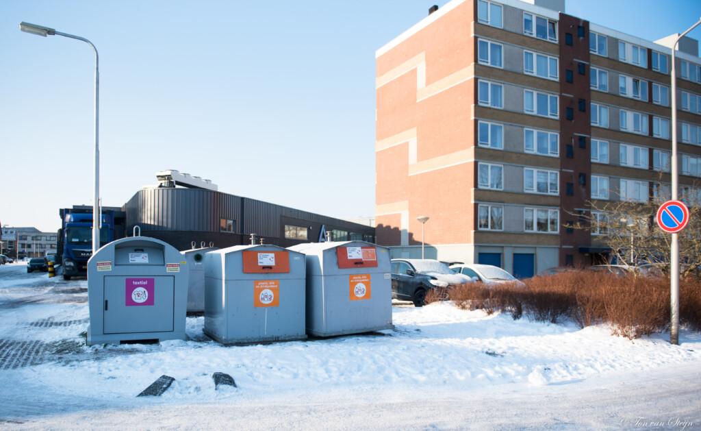 Ondergrondse vuilcontainers in Zeewijk eventueel met camera's