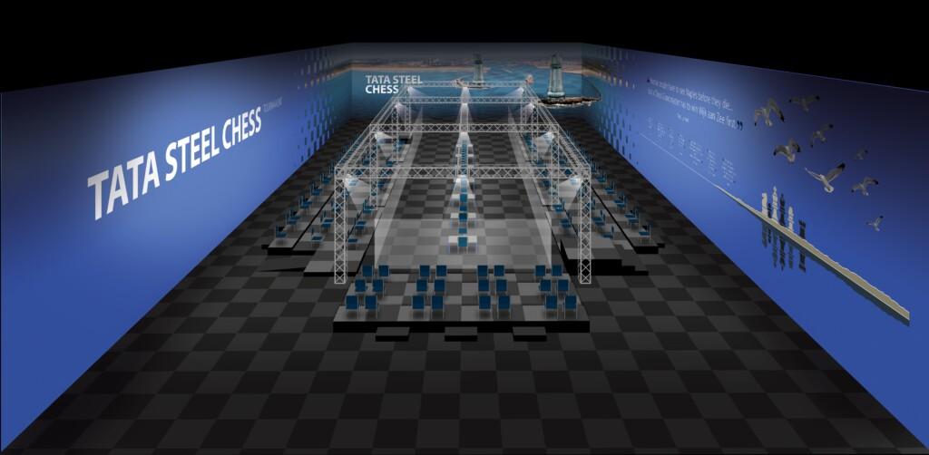 Tata Steel Chess Tournament 2021 gaat door