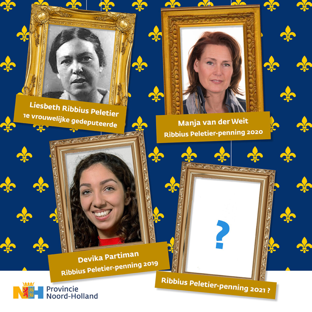Onderscheiding voor vrouwen in de Noord-Hollandse politiek