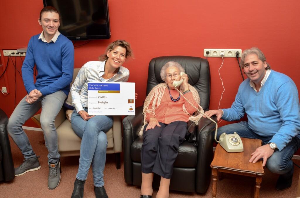 Telstar@work maakt mensen met dementie blij