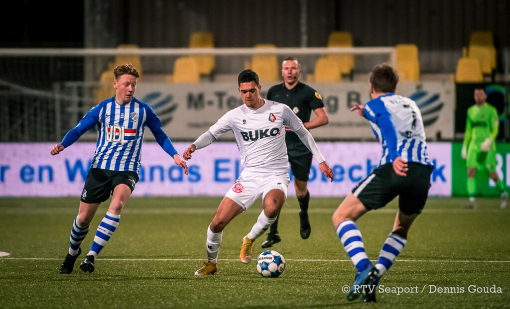 Telstar geeft in slotfase overwinning uit handen tegen FC Eindhoven