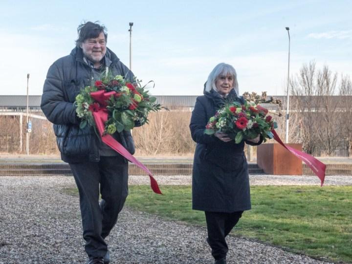 VIDEO – Kranslegging in Velsen-Noord bij herdenking Februaristaking