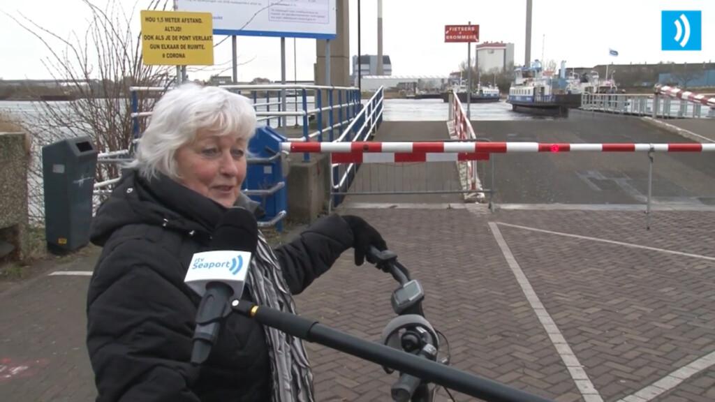 VIDEO – Fietsers kunnen niet wachten tot opening fietsroute zeesluizen