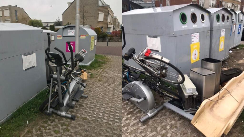 Bewoners boos over vuilstort bij vuilcontainers Zeewijk