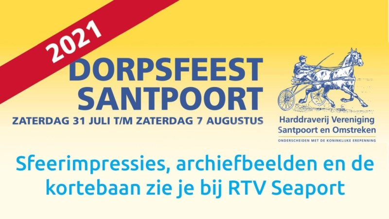 Dorpsfeest(je) Santpoort volg je bij RTV Seaport