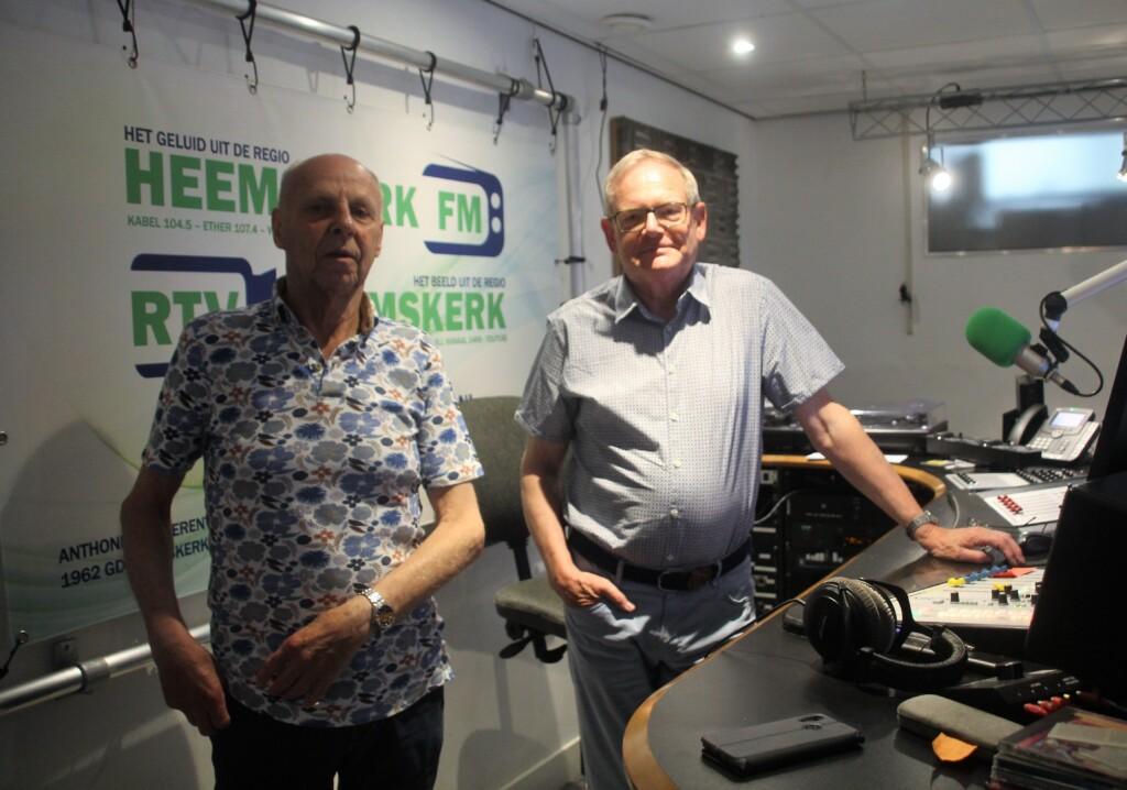 Vrijwillige radiomakers Omroep Heemskerk maken 1500ste uitzending