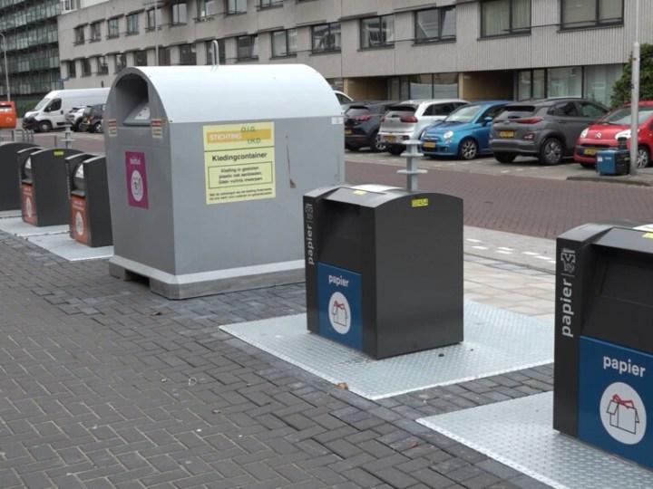 """Nieuwe afvalinzameling bij hoogbouw in Zeewijk """"heel prachtig gedaan"""""""