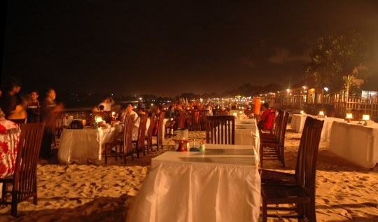 Seafood Dinner In Jimbaran Bay Bali