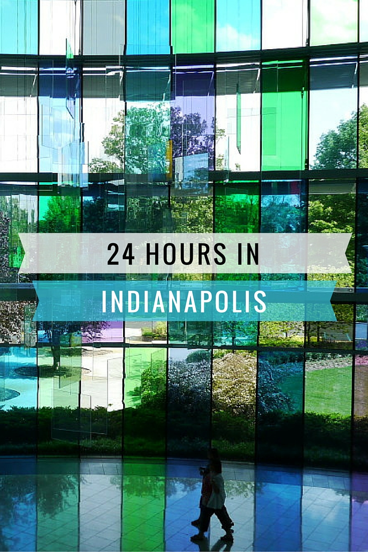 Indianapolis- What To Do With 24 Hours | www.rtwgirl.com
