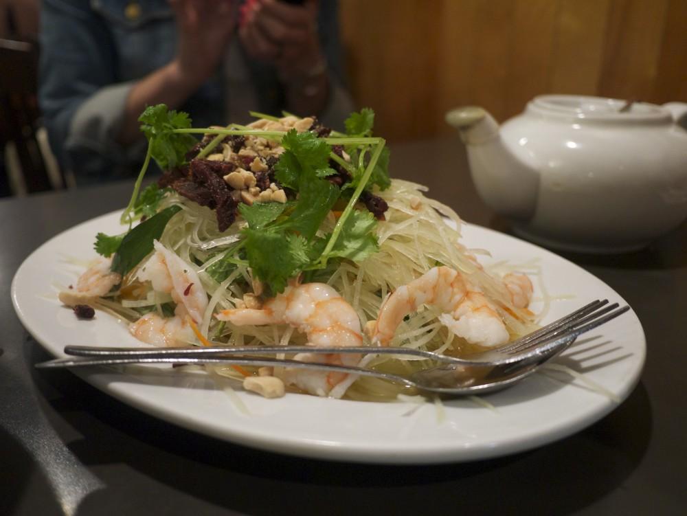 papaya salad Phnom Penh Vancouver
