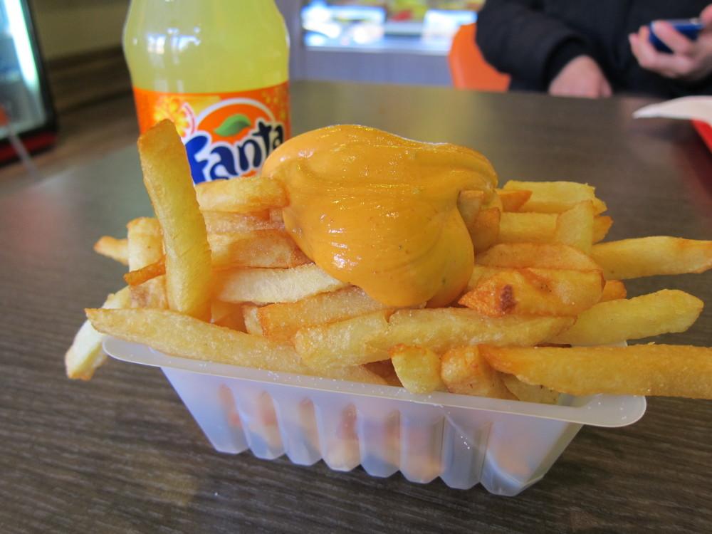 Fries Frites In Belgium
