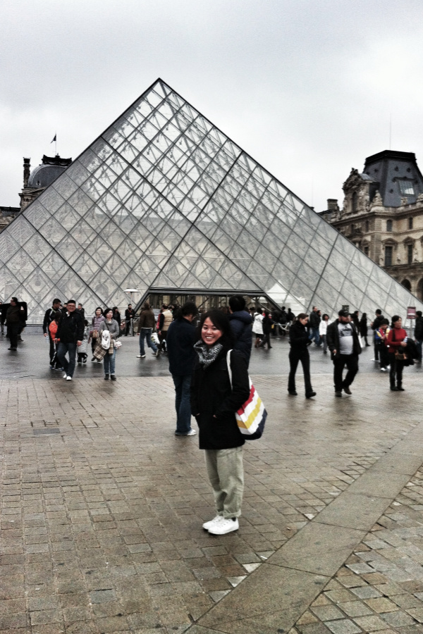 Outside Louvre