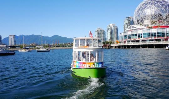 Vancouver Aquabus | www.rtwgirl.com