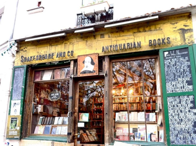 Shakespeare And Co Book Store