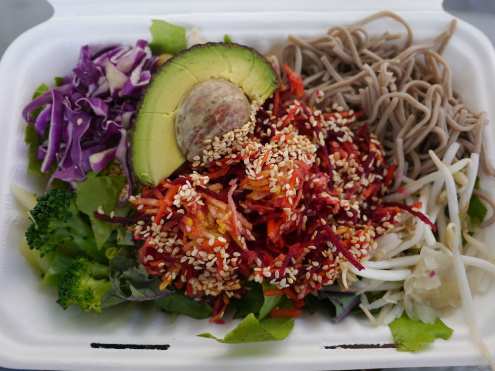 Culver City Salads - Best Budget Meals Under $20 In Vancouver | www.rtwgirl.com